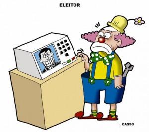 Eleitor-palhaço